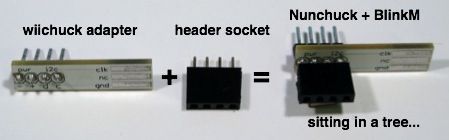 wiichuck header wiichuck\u201d wii nunchuck adapter available todbot blog wii nunchuck wiring diagram at crackthecode.co