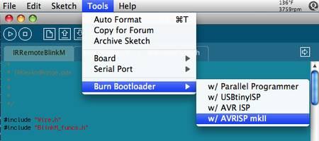 arduino-burn-bootloader