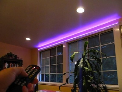 Accent Light with BlinkM MaxM & FreeM