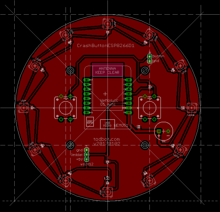 CrashSpace BigButton w/ ESP8266 – todbot blog