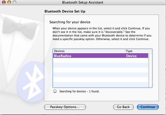 HOWTO: Mac OS X Bluetooth Serial Port – todbot blog